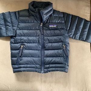 Infant Boys Patagonia puffer jacket